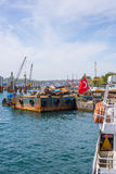 ISTANBUL, TURKEY, 8 MAY 2017 - Istanbul's new Galataport cruis Royalty Free Stock Images