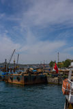 ISTANBUL, TURKEY, 8 MAY 2017 - Istanbul's new Galataport cruis Royalty Free Stock Photography