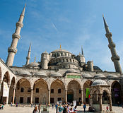 ISTANBUL TURKEY MAY 1: The Suleiman Mosque (Turkish: Suleymaniye Royalty Free Stock Photos