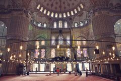 The Sultan Ahmed Mosque Stock Photo