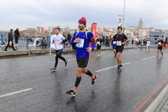 39th Istanbul Marathon Stock Photo