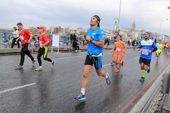 39th Istanbul Marathon Royalty Free Stock Photos