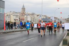 39th Istanbul Marathon Royalty Free Stock Images