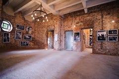 ISTANBUL, TURKEY- NOVEMBER 2, 2014: FotoIstanbul exposition room named Stock Images