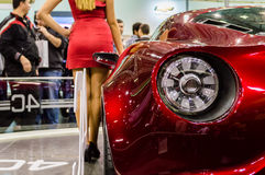 Istanbul, Turkey - November 10, 2012:  Istanbul Auto Show 2012 at TUYAP Stock Images