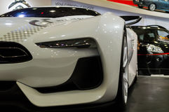 Istanbul, Turkey - November 10, 2012:  Istanbul Auto Show 2012 at TUYAP Stock Photo