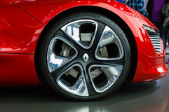 Istanbul, Turkey - November 10, 2012:  Istanbul Auto Show 2012 at TUYAP Royalty Free Stock Image
