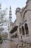 Istanbul, Turkey - November 23, 2014: The Suleymaniye Mosque is an Ottoman imperial mosque located on the Third Hill of Istanbul. The largest mosque in the city Royalty Free Stock Photos