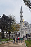 Istanbul, Turkey - November 22, 2014: The Sultan Ahmed Mosque (popularly known as the Blue Mosque) Royalty Free Stock Image