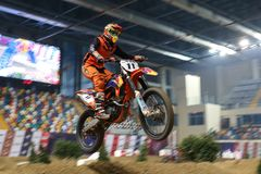 Istanbul Supercross championship Royalty Free Stock Photography