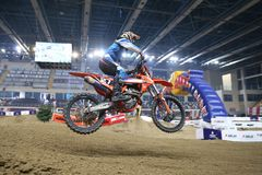 Istanbul Supercross championship Stock Images