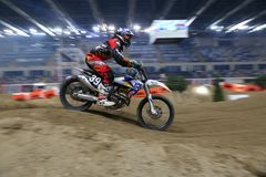 Istanbul Supercross championship royalty free stock images