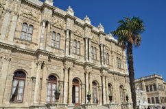 Istanbul, Turkey, October, 19, 2013. Dolmabahce Palace in Istanbul Stock Image