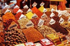 Egyptian Bazaar, ISTANBUL, TURKEY stock photography