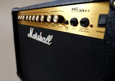 Marshall 30DFX Amplifier Royalty Free Stock Image