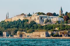 Istanbul, Turkey, October 8, 2011: Topkapi Palace. stock photos