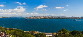 Istanbul Turkey panorama Stock Photography