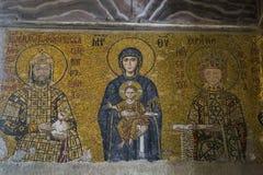 Interior of Hagia Sophia, Istanbul stock photo