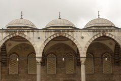 Istanbul, Turkey - Sultan-Ahmed-Mosque Stock Photo