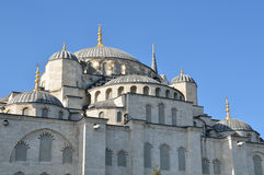 Istanbul, Turkey, Sultanahmet mosque (Blue mosque) in Istambul Royalty Free Stock Images