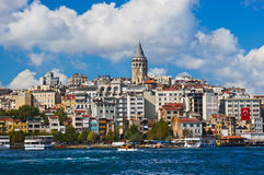 Istanbul Turkey view. Istanbul view - Turkey travel architecture background Royalty Free Stock Image