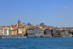 Istanbul Turkey view, Galata Tower, Istanbul, Turkey Stock Photography