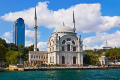 Istanbul Turkey view. Istanbul view - Turkey travel architecture background Royalty Free Stock Photos