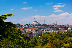 Istanbul Turkey view royalty free stock image
