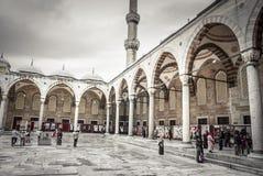 ISTANBUL TURKIET - April 14, 2015: Royaltyfri Bild