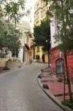 Istanbul Turkiet, det Galata tornområdet royaltyfri bild