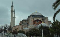 Istanbul Turkiet - Hagia Sophia Arkivbild