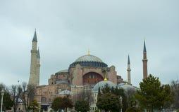 Istanbul Turkiet - Hagia Sophia Arkivfoton