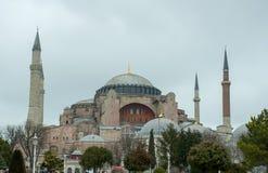 Istanbul Turkiet - Hagia Sophia Royaltyfri Fotografi