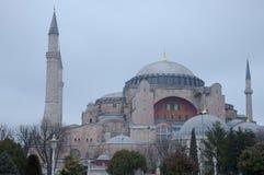 Istanbul Turkiet - Hagia Sophia Royaltyfria Bilder