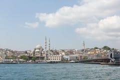 Istanbul Turkiet horisont arkivfoto
