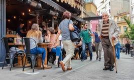 Istanbul Turkiet - Juni 02, 2017: Fotografering för Bildbyråer