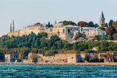 Istanbul Turkiet, Oktober 8, 2011: Topkapi slott arkivfoton