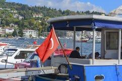 Istanbul TURKIET - September 21 - 2018 royaltyfri foto