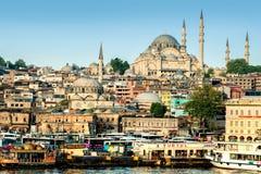 Istanbul, Turquie - 19 avril 2016 : Vue de ville d'Istanbul Images libres de droits