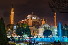 Istanbul, Turquie - 6 28 2018 : Hagia Sophia photographie stock libre de droits