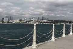 Istanbul, Turquie, le Bosphorus Image libre de droits