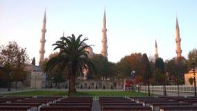 Istanbul Turquie Sultan Ahmet banque de vidéos