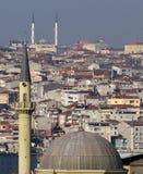 Istanbul, Turquie, vue de ville Images stock