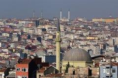 Istanbul, Turquie, vue de ville Photo stock