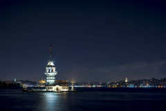 Istanbul Twilight Royalty Free Stock Photography