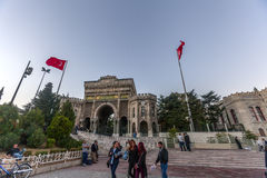 Istanbul univeristy Royalty Free Stock Photography