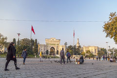 Istanbul universitet Arkivfoto