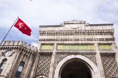 Istanbul universitet Arkivbild