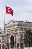 Istanbul universitet Royaltyfri Bild