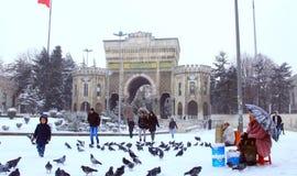 Istanbul universitetar Fotografering för Bildbyråer